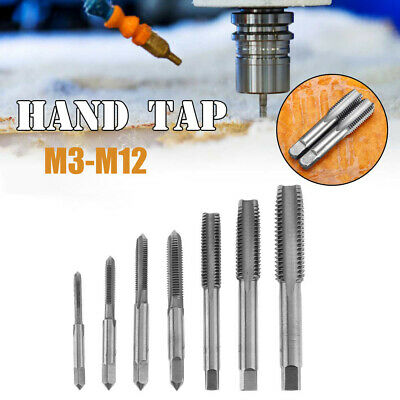 $60.19 • Buy M3-M12 Metric HSS Right Hand Thread Tap RightHand Tap Plug Various Size X3