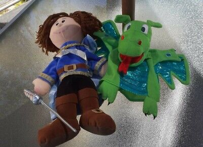 £4.99 • Buy George And The Dragon Hand Puppets