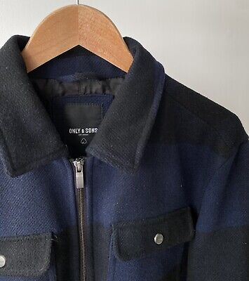 £2.30 • Buy Only And Sons Checked Jacket, Size M