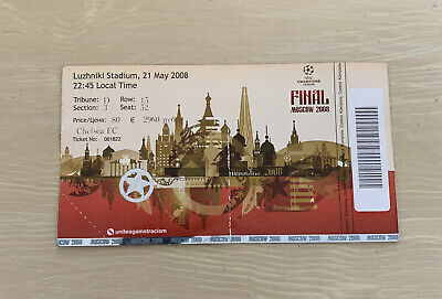 £23 • Buy Manchester United V Chelsea 2008 Champions League Final Ticket
