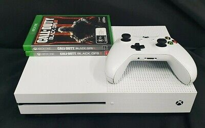 AU182.50 • Buy Microsoft Xbox One S 500GB 1681 White Console With 2x Games - Bids From $1