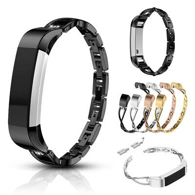 AU9.89 • Buy For Fitbit Alta/Alta HR Women Bling Rhinestone Stainless Steel Watch Strap Band