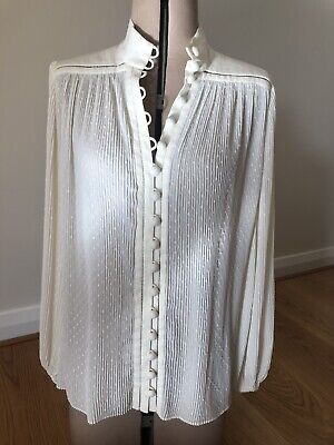 AU299 • Buy Zimmerman High Neck Blouse Top Size 2 Worn Once!