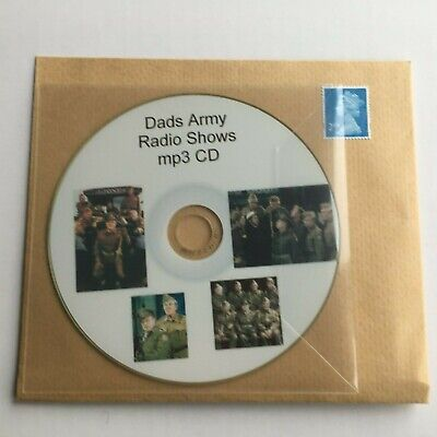 £1.49 • Buy Dads Army Mp3 CD OTR Old Time Radio Shows