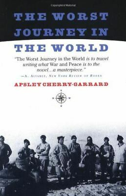 £9.25 • Buy The Worst Journey In The World, Cherry-Garrard, Apsley, Like New, Paperback
