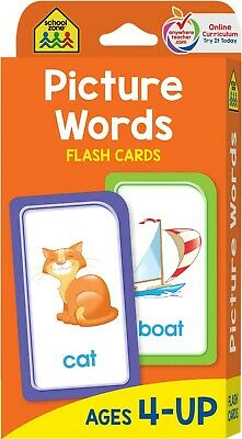 £3.66 • Buy Baby Book First Words Picture Words Flash Cards For Toddler Kid By School Zone