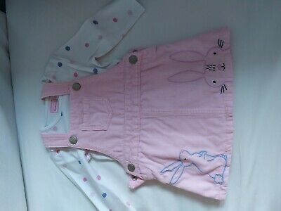 £2 • Buy Baby Girl Blue Zoo Outfit 6-9 Months