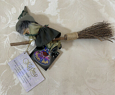 £19.99 • Buy Witches Of Pendle - Lotti N Broom - Green - 10.5  Long - Kasma Collections - NEW