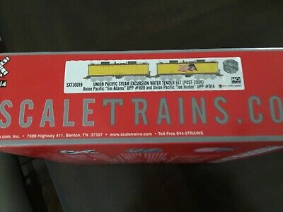 $ CDN347.14 • Buy Scale Trains Ho Union Pacific Excursion Water Tender Set