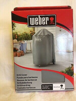 """$ CDN48.47 • Buy Weber 7175 Barbeque Grill Cover - Grey. 18""""/47cm."""