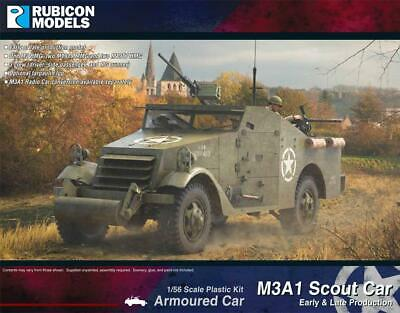 $32.93 • Buy Rubicon American M3A1 Scout Car (Early & Late Production) New