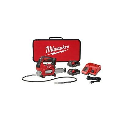 $329.29 • Buy Milwaukee 2646-22CT M18 18V Cordless Lithium-Ion 2-Speed Grease Gun With 2 Batte
