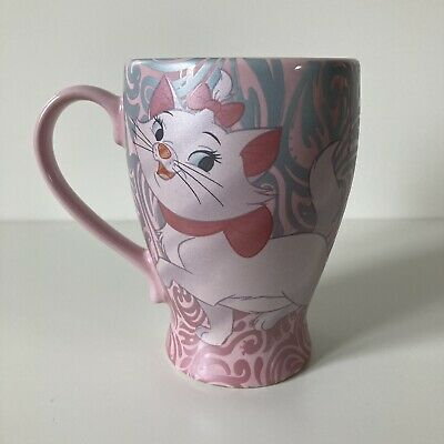 £8.99 • Buy Disney Store Exclusive The Aristocats MARIE Cat Pink Ceramic Tall Coffee Mug Cup