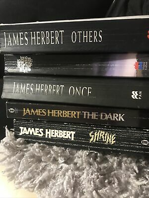 £10 • Buy James Herbert Books 5 Books Collection Once, Shrine, The Ghost Of Sleath, Others