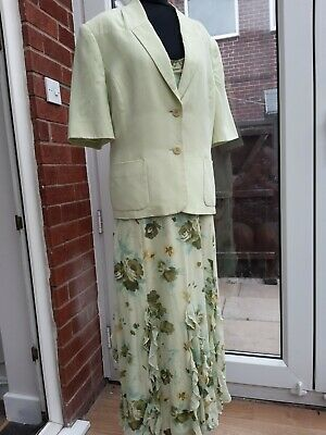 £29.95 • Buy  Country Casuals Dress And Jacket  Outfit Size 16 Wedding Occasion