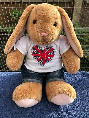 £15.99 • Buy Build A Bear Bunny Rabbit With Outfit Soft Plush Toy Teddy 15  BABW