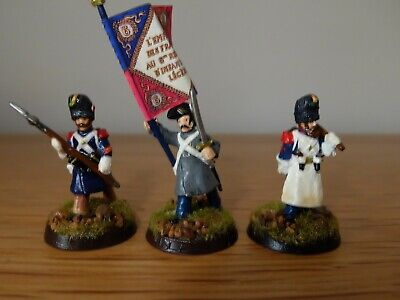 $15.52 • Buy Foundry 28mm French Napoleonic Flag Party By  Alan Perry