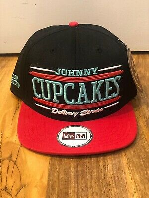 £21 • Buy Johnny Cupcakes New Era Snapback. Red/Black Delivery Service