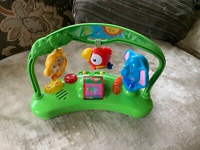£4 • Buy Fisher Price Rainforest Jumperoo - Musical Toy Non Working - For Parts Only