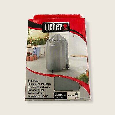 $ CDN27.69 • Buy Weber Gray Grill Cover #7175 - 18  - For Kettle Style Grills - New In Box