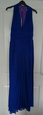 £69.95 • Buy Ronald Joyce After Six Blue Cocktail Party Cruise Dress - Size 12