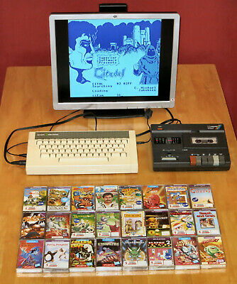 £95 • Buy Acorn Electron Computer, Data Recorder, 24 Classic Games.  Tested And Working.