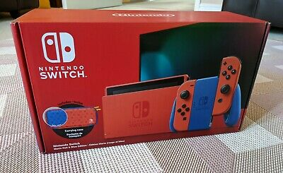 AU368.97 • Buy Nintendo Switch Mario Red & Blue Edition Console