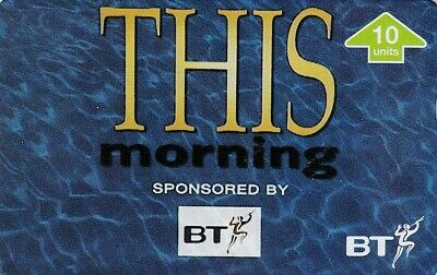 £4 • Buy Bt This Morning Television  Itv Mint Phonecard