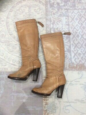 £100 • Buy Chloe Leather Boots, Size 35