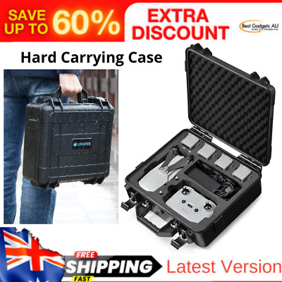 AU109.33 • Buy Carrying Case For DJI Mavic Air 2 Fly More Combo - Drone Quadcopter Accessories