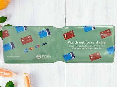 £1.84 • Buy London Underground Oyster Card Travel Card Train Ticket Bus Pass Holder Cover