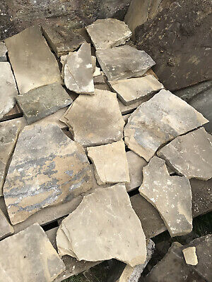 £75 • Buy Yorkshire Stone Pieces For Crazy Paving Fixed Price For It All. Two Pallets