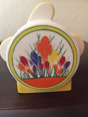 £29.99 • Buy Moorland Pottery Art Deco Crocus Pattern Sugar Box With Lid Or Sucrier