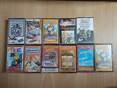 £0.99 • Buy Amstrad X11 Games CPC 464 664 6128 Retro Games Amsoft Tinpin Challenge Touchdown