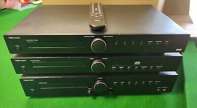 £90 • Buy Tibo TI400 Separates - DAB/FM Tuner, CD Player & Amplifier With Remote