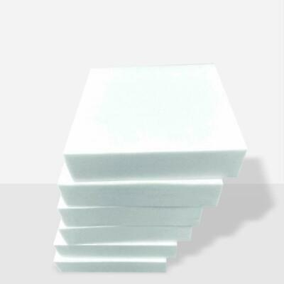 £2.99 • Buy Upholstery Foam Cut To Any Size Sofa Pads Headboard Ottoman Box Chair Bench Seat