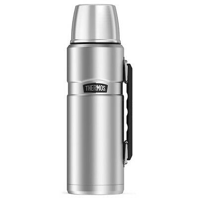 AU37 • Buy NEW Thermos Stainless Steel Vacuum Insulated Flask Silver 1.2L