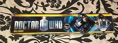 £39.99 • Buy Doctor Who Wallpaper Decal Sticker  BLACK DOG BBC Official Product W@W!!