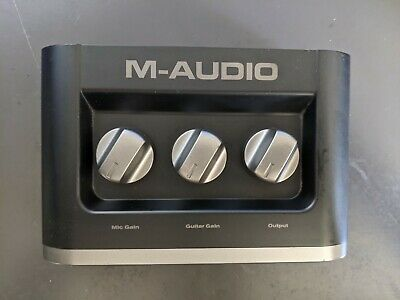$25 • Buy M-audio Fast Track Usb Guitar Interface With USB Cable