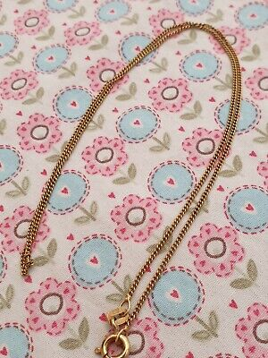 £35 • Buy 9ct Gold Chain Fully Hallmarked