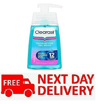 £7 • Buy Clearasil Ultra Rapid Action Gel Wash Unblock Pores Fight Spots Clear Skin 150ml