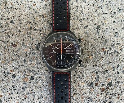 $ CDN1243.80 • Buy Vintage LeJour Chronograph 7000 Day Date Black PVD Watch