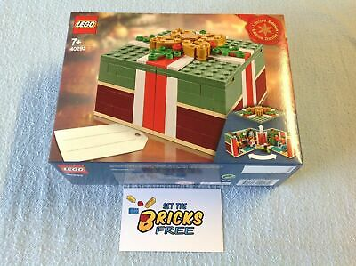 AU79.99 • Buy Lego Christmas Exclusive 40292 Christmas Gift Box New/Sealed/Retired/Hard 2 Find