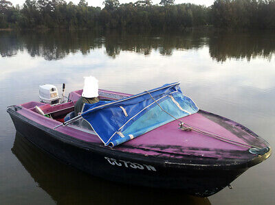AU1000 • Buy Savage & Sons Fiberglass O Runabout & Trailer - Unfinished Project
