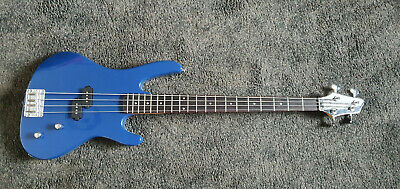 £120 • Buy Washburn XB100 Bass Guitar In Blue With Case And Lead. P-bass
