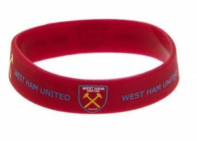 £1.75 • Buy Official West Ham United Fc Silicone Wristband