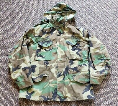 $39.99 • Buy M-65 Military Field Jacket Size Large Regular Camouflage By Golden Mfg. - Nice