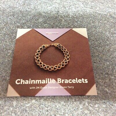 £3 • Buy Jewellery Maker Dvd - Chain Mailed Bracelets With Alison Tarry