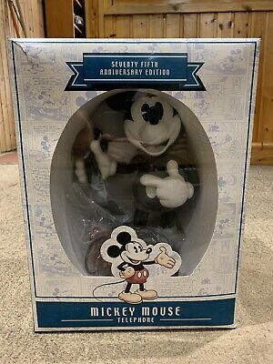 £35 • Buy Mickey Mouse 75th Anniversary Talking Telephone COLLECTABLE IN ORIGINAL BOX