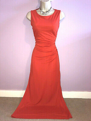 £25 • Buy Damsel In A Dress Ladies Coral Maxi, Party Coctail Dress Size 14